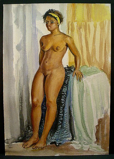 african-american woman standing