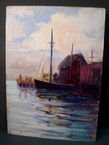 WR Watkins Chesapeake Bay Boat Wharf c.1930s