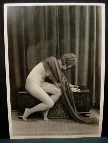 Albert Arthur Allen curled nude 1920s
