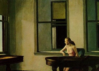 Edward Hopper woman sitting alone