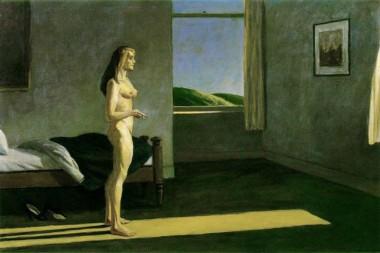Edward Hopper standing nude