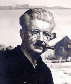 WR Watkins with cigar