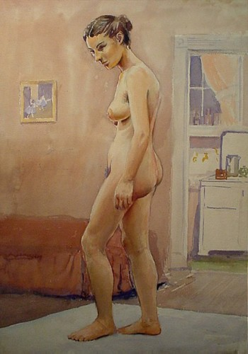 WR Watkins nude in kitchen