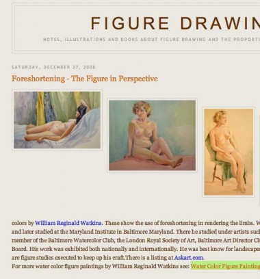 Figure Drawing foreshortening article