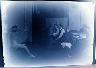 WR Watkins art class 1930s