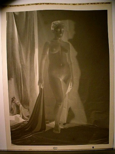 WR Watkins nude with shadow negative