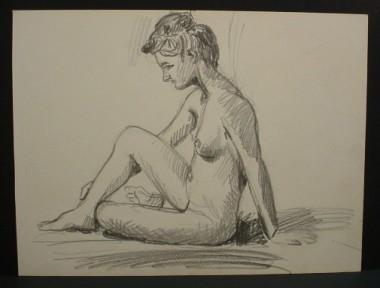 WR Watkins pencil nude