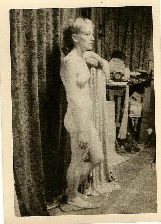 WR Watkins blonde model, left angle c.1950