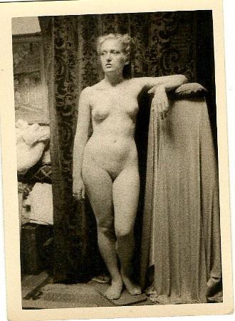 WR Watkins blonde model, center angle c.1950