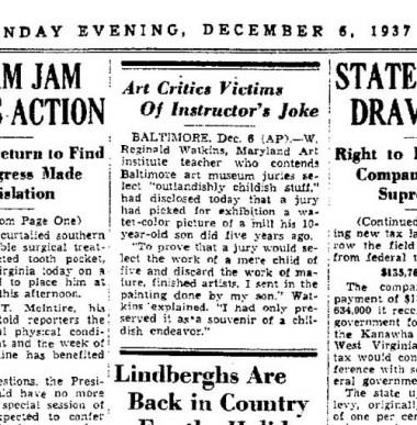 WR Watkins 1937 museum article